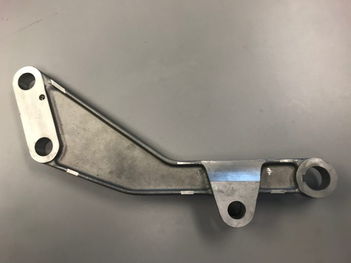 Aluminum Cast Lever Arm